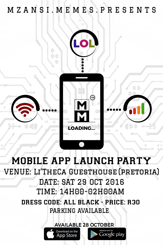 Mzansi Memes Mobile App Launch